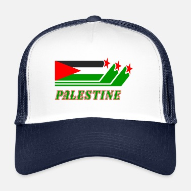 Drapeau National Drapeau Palestine Drapeau National - Trucker Cap