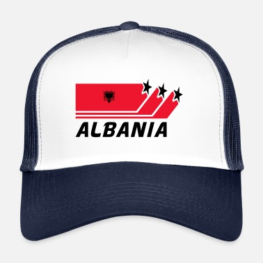 Drapeau National Drapeau national / drapeau de l'Albanie - Trucker Cap