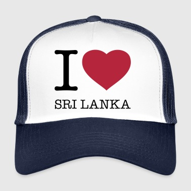 I LOVE SRI LANKA - Trucker Cap