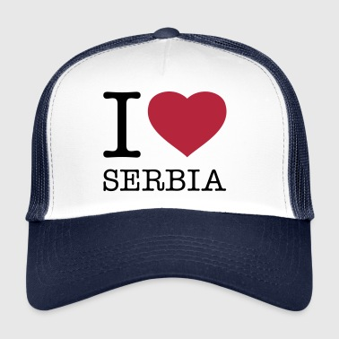 I LOVE SERBIA - Trucker Cap