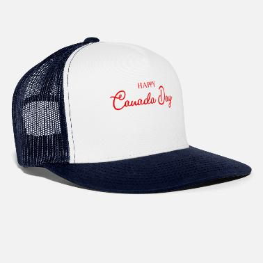 Cresta Happy Canada Day - Maple Leaf - primo luglio - Cappello trucker