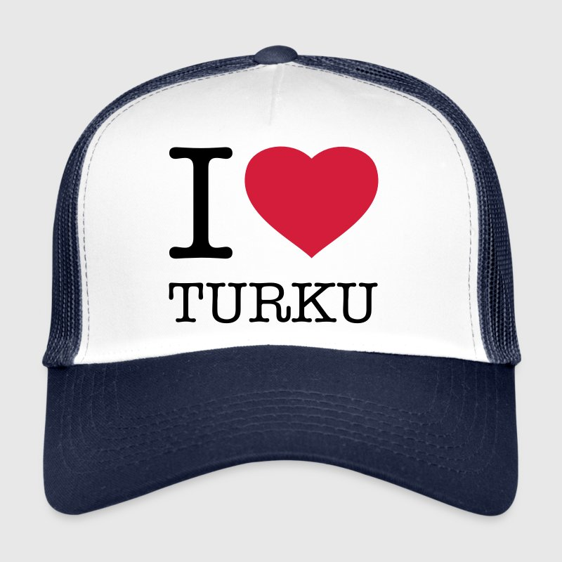 I LOVE TURKU - Trucker Cap