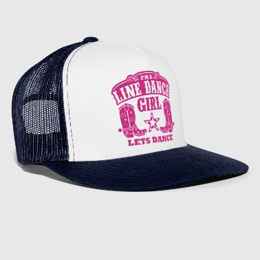 I'M A LINE DANCE GIRL - Trucker Cap