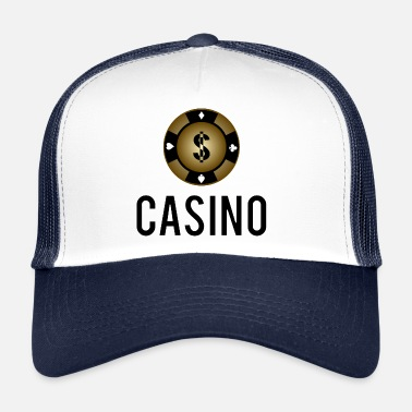 Texas Casino Poker Chip Cool Presentkort Kortspel - Trucker Cap