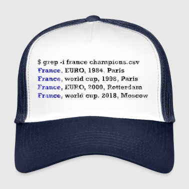 unix France champion du monde - Trucker Cap
