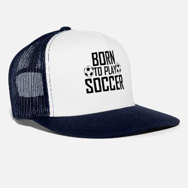 Pitching Soccer - Trucker Cap