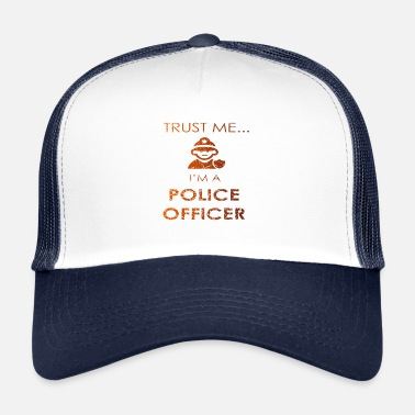 Job Travail Police Job Job Job Funny - Trucker Cap