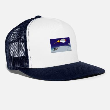 Rocket Space Mars Space Space Galaxy Space - Trucker cap