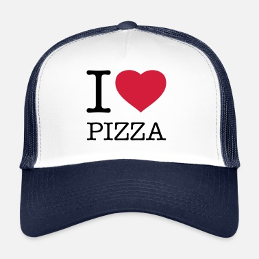 Pizza I LOVE PIZZA - Trucker Cap
