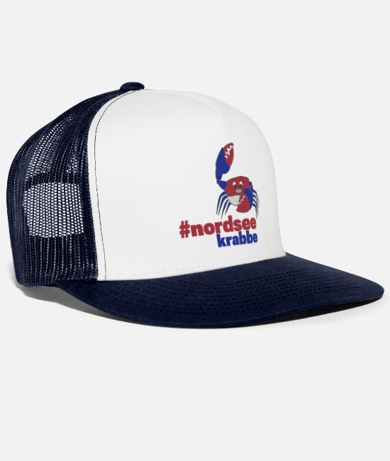 Lobster Caps & Hats - North Sea - Trucker Cap white/navy