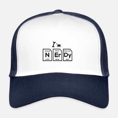 Gamma Soy Nerdy Black Periodic Table - Gorra de camionero