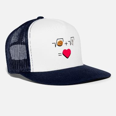 Pull The Root Cookies and cat Cat and biscuits alike love - Trucker Cap
