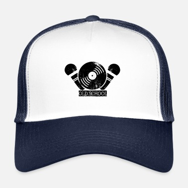 Old School Hip Hop Old School Rap I Vanha koulu Hip Hop - Trucker Cap