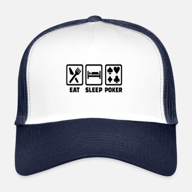 Texas Holdem Eat Sleep Poker Funny Poison Texas Holdem - Gorra trucker 1d9495231c7
