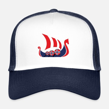 Noruega Viking ship Norway regalo - Gorra trucker
