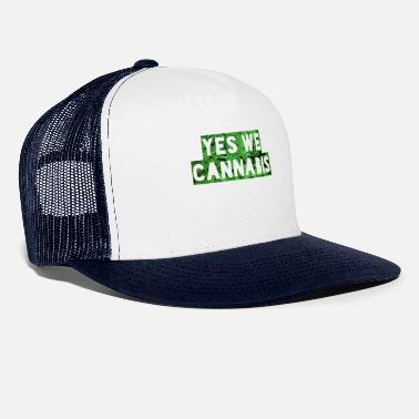 Yes We Cannabis Yes We Cannabis - Trucker Cap