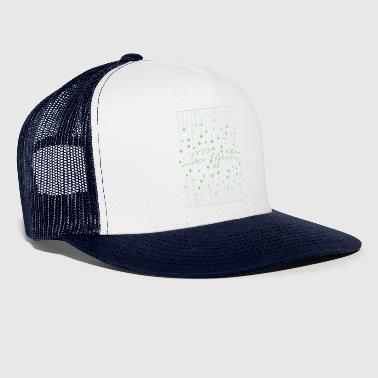 Hanging asterisks with squiggles and arrows - Trucker Cap