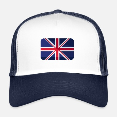 Great-britain Great Britain Flag Great Britain - Trucker Cap