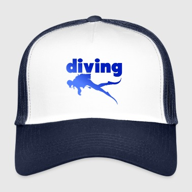 Dive Diving Diving - Trucker Cap