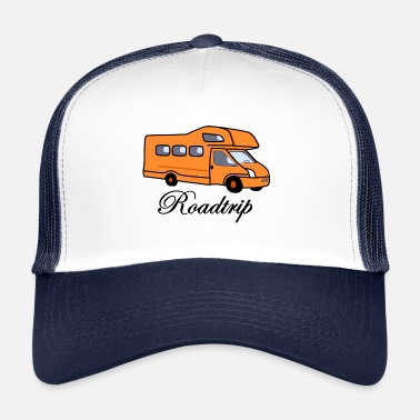 Trip Road trip with the camper - for travelers - Trucker Cap