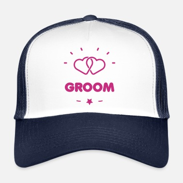 Hen &amp GROOM + HEART - Trucker Cap