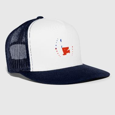 take a knee football Chile png - Trucker Cap