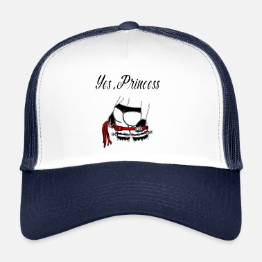 Domina BDSM princess bondage roast domina mistress - Trucker Cap