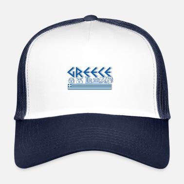 Greek Greece - Zeus Greek Mythology Shirt - Trucker Cap da1312de9ec
