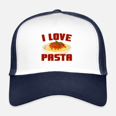 I LOVE PASTA - Trucker Cap