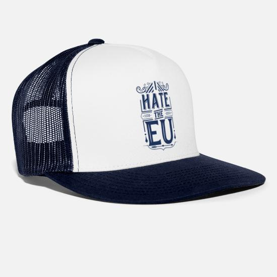 Eu Caps & Hats - Europe Europe Europe Europe - Trucker Cap white/navy