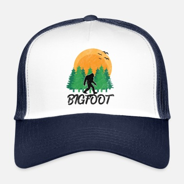 Sasquatch Bigfoot - Trucker Cap