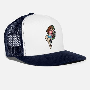 Pin-up PIN UP TYTÖTATTOO - Trucker cap