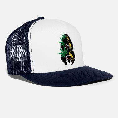 Reaper Weed with Three Friends - Trucker Cap