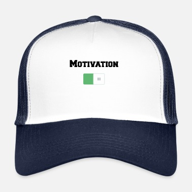 Motivation Motivation On Motivations Motiv Weiss - Trucker Cap