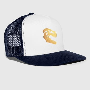 dinosaure d'or - Trucker Cap