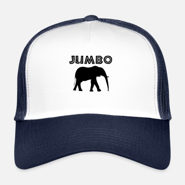 Jumbo jumbo in black - Trucker Cap