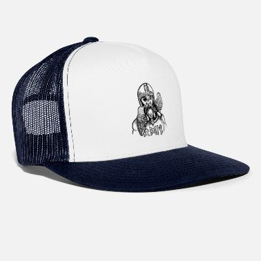 Futhark Odin and his ravens - Trucker Cap
