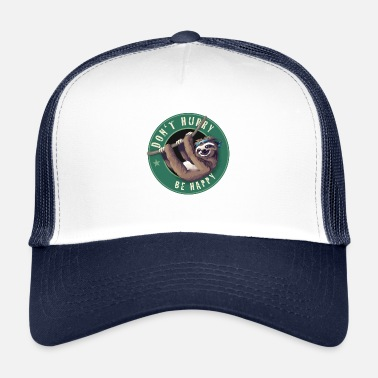 Starbucks Sloth Starbucks Button perezoso diversión Humor LOL chill - Gorra trucker