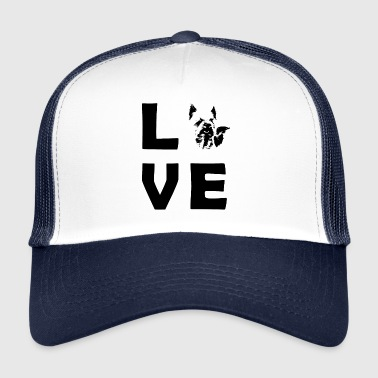 LOVE Yorkshire Picture - Trucker Cap