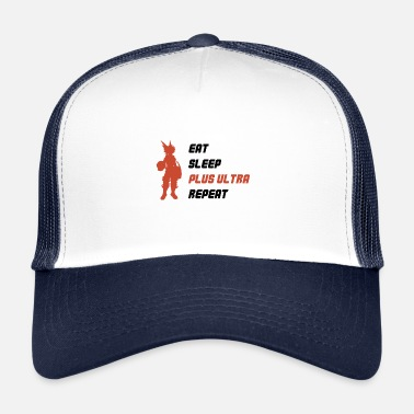 Ultras EAT SLEEP PLUS ULTRA REPEAT - Trucker Cap