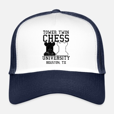 Twin Towers Tower Twin Chess University College Denksport - Trucker Cap