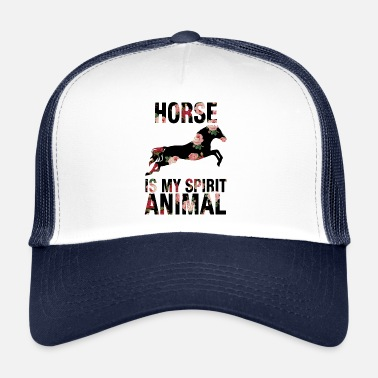 Animal Cheval cheval animal mon esprit animal animal animal - Trucker Cap