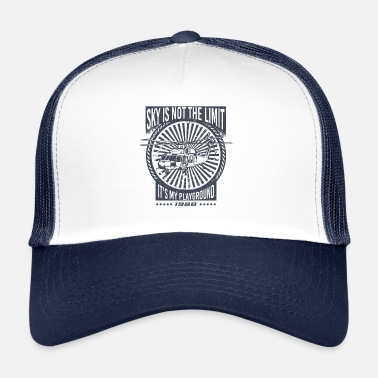 Black Hawk De hemel is niet de limiet Black Hawk helikopter - Trucker cap