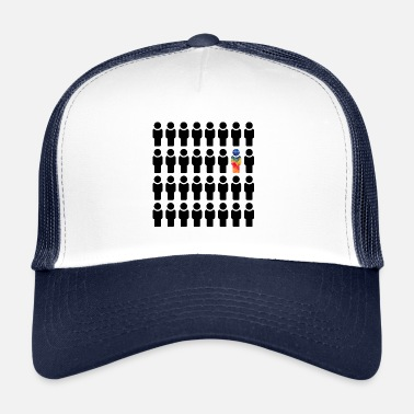 Different Be different, be different - Trucker Cap