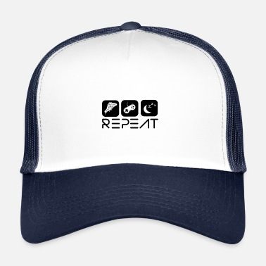 Repeat Repeat - Trucker Cap
