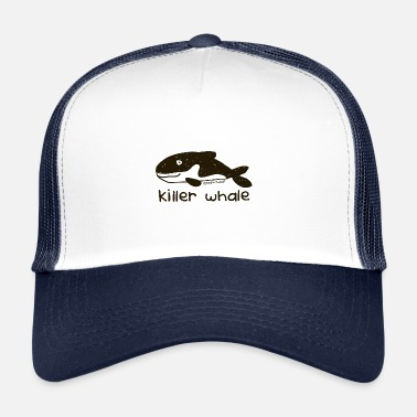 90s 'killer whale - Bang on the door - Trucker Cap