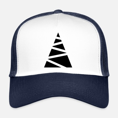 Minimum Abstrakt fir-træ - Trucker Cap