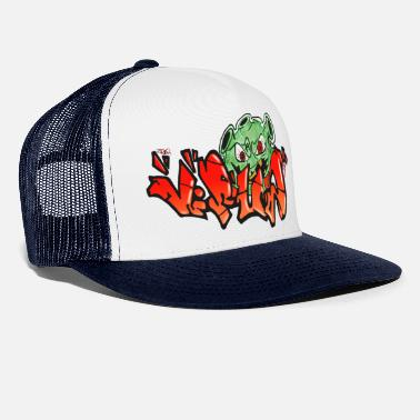 Covid 19 Virus - Graffiti-Style - Trucker Cap
