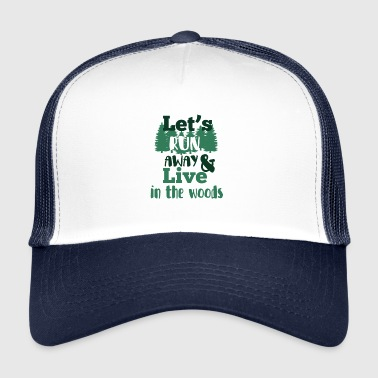 Far in the forest - Trucker Cap