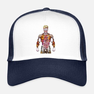 Steroids BRAIN CLOWN STEROID - Trucker Cap